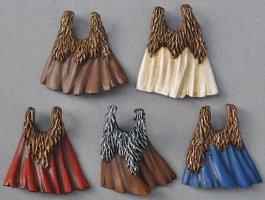Fur cloaks (Exo-Lord Fur Cloaks) from Anvil Industry - Miniature accessory