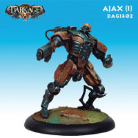 Ajax (1) set for the Saint Isaac faction of the Forsaken for Dark Age from CoolMiniOrNot, 2015 - Miniature set review