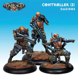 Controller (3) set for Dark Age from CoolMiniOrNot, 2015 - Miniature set review