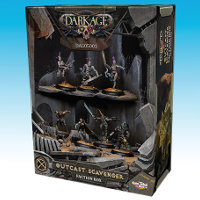 Outcast Scavenger Faction Box set for the Outcasts for Dark Age from CoolMiniOrNot, 2016 - Miniature set review