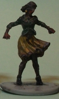 Sick human female (Zombicide Female Walker 1) from CoolMiniOrNot - Miniature