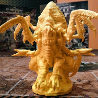 Alien (Therion Megaboss sc1 v2 for Project: ELITE) from Drawlab Entertainment - Miniature creature review