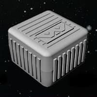 Crate in 1/56 scale - Crate for Aliens board game from Gale Force Nine, 2020 - Miniature scenery review
