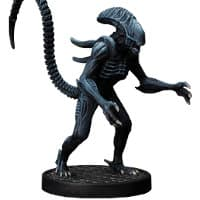 Humanoid alien carnivore - Alien #1 for Aliens board game from Gale Force Nine, 2020 - Miniature creature review
