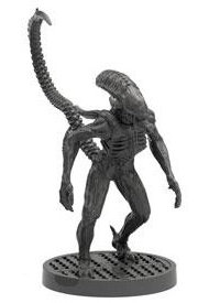Humanoid alien carnivore - Alien #3 for Aliens board game from Gale Force Nine, 2020 - Miniature creature review