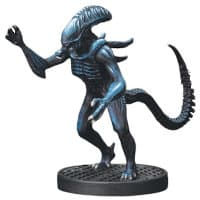 Humanoid alien carnivore - Alien #5 for Aliens board game from Gale Force Nine, 2020 - Miniature creature review