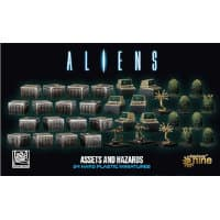 Aliens: Assets and Hazards for Aliens (GF9) from Gale Force Nine, 2020 - Miniature set review