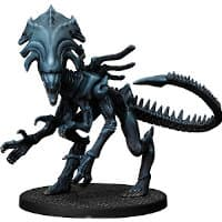 Humanoid alien carnivore - Queen for Aliens board game from Gale Force Nine, 2020 - Miniature creature review