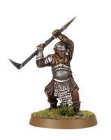 Orc warrior with two-handed warpick (Mordor Orc #7) from Games Workshop
