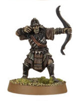 Orc warrior with bow (Mordor Orc #8) from Games Workshop