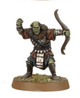 Orc warrior with bow (Mordor Orc #11) from Games Workshop