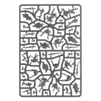 Kairic Acolytes sprue #1 (for Warhammer: Age of Sigmar) from Games Workshop - Miniature sprue review