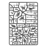 Kairic Acolytes sprue #2 (for Warhammer: Age of Sigmar) from Games Workshop - Miniature sprue review