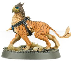 Avian hound (Gryph-hound of Lord-Castellant for Warhammer: Age of Sigmar) from Games Workshop - Miniature creature