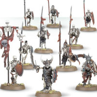 Skeleton Warriors set for the Undead of Warhammer from Games Workshop - Miniature set review
