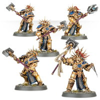 Stormcast Eternals Paladin kit for Warhammer: Age of Sigmar from Games Workshop, 2015 - Miniature kit review
