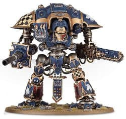 Questoris Pattern Knight kit #1 for Warhammer 40,000 Ed6 from Games Workshop, 2014 - Miniature kit review