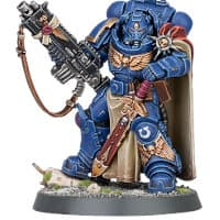 Primaris Space Marine Captain #5, in Mark X Gravis armour, with master-crafted heavy bolt rifle from Kill Team: Pariah Nexus set