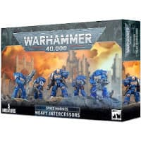 Primaris Space Marine Heavy Intercessors set for Warhammer 40,000 Ed9 from Games Workshop, 2021 - Miniature figure set review