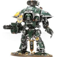 Questoris Pattern Knight kit #2 for Warhammer 40,000 Ed7 from Games Workshop, 2015 - Miniature kit review