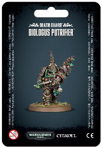 Biologus Putrifier set for Warhammer 40,000 Ed8 from Games Workshop, 2017 - Miniature figure set review