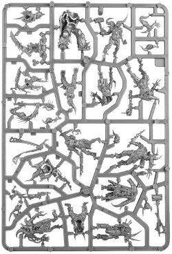 Dark Imperium - Death Guard sprue 1 for Warhammer 40,000 Ed8 from Games Workshop - Miniature sprue review