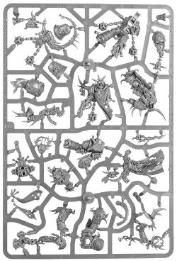 Dark Imperium - Death Guard sprue 2 for Warhammer 40,000 Ed8 from Games Workshop - Miniature sprue review