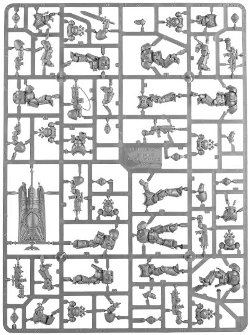 Dark Imperium - Primaris sprue 2 for Warhammer 40,000 Ed8 from Games Workshop - Miniature sprue review