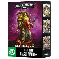 Easy To Build: Death Guard Plague Marines set for Warhammer 40,000 Ed8 from Games Workshop - Miniature figure set review