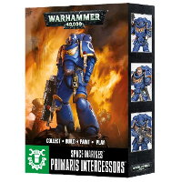Easy To Build: Primaris Space Marine Intercessors set for Warhammer 40,000 Ed8 from Games Workshop - Miniature figure set review