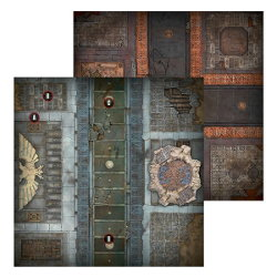 First Strike Playing Mat set for Warhammer 40,000 Ed8 from Games Workshop - Miniature scenery set review