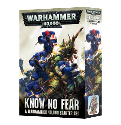 Know No Fear Starter Set for Warhammer 40,000 Ed8 from Games Workshop - Miniature wargame, figure and scenery set review