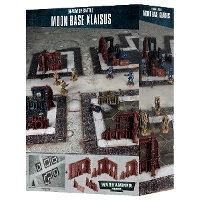 Realm of Battle: Moon Base Klaisus set for Warhammer 40.000 Ed8 from Games Workshop - Miniature scenery set review