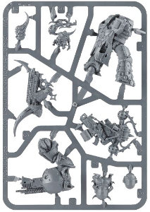 Plague Marine Champion set for Warhammer 40,000 Ed8 from Games Workshop, 2017 - Miniature figure set review