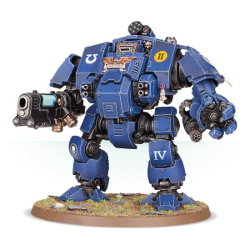 Combat walker in 1/56 scale (Redemptor Dreadnought for Warhammer 40.000 Ed8) from Games Workshop - Miniature figure review