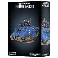 Primaris Repulsor set for Warhammer 40,000 Ed8 from Games Workshop - Miniature figure set review