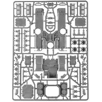 Primaris Repulsor sprue 2 for Warhammer 40,000 Ed8 from Games Workshop - Miniature sprue review