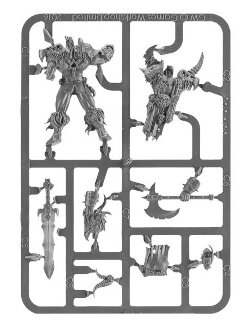 Darkoath Chieftain sprue (for Warhammer Quest: Silver Tower) from Games Workshop - Miniature sprue