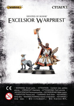 Excelsior Warpriest set (for Warhammer Quest: Silver Tower) from Games Workshop - Miniature set