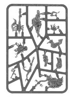 Fyreslayer Doomseeker sprue (for Warhammer Quest: Silver Tower) from Games Workshop - Miniature sprue