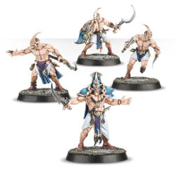 Barbarian warriors (Kairic Acolyte for Warhammer Quest) from Games Workshop - Miniature figure