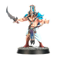 Barbarian warrior with sword (Kairic Adept for Warhammer Quest: Silver Tower) from Games Workshop - Miniature figure