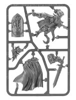 Knight-Questor sprue (for Warhammer Quest: Silver Tower) from Games Workshop - Miniature sprue