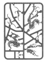 Tenebrael Shard sprue (for Warhammer Quest: Silver Tower) from Games Workshop - Miniature sprue