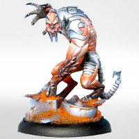 Armoured humanoid creature (Alguhl) for Eden from Happy Games Factory - Miniature figure review