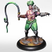 Human with whip (Fahim) for Eden from Happy Games Factory - Miniature figure review