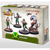 Askari Starter Box v2 set (Starter Box Askari V2) for Eden from Happy Games Factory, 2017 - Miniature figure set review