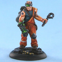 Human with wrench (Bruce) for Eden from Happy Games Factory - Miniature figure review