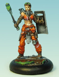 Human with mace and shield (Chelsea) for Eden from Happy Games Factory - Miniature figure review