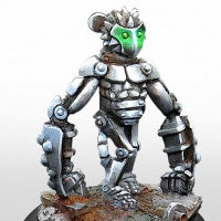 Simian robot (Equity) for Eden from Happy Games Factory - Miniature figure review